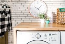Laundry Room / My dream laundry room! Wash, Dry, Hang repeat!