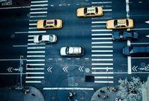 Street / Inspiration urbaine #ville #rues #metro #city #street #roads #subway #buildings #paris #london #newyork #tokyo