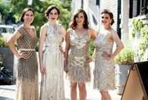 {Theme} Deco Glam / A little party never killed nobody... Find all the 1920s deco glam inspiration for the Great Gatsby wedding of your dreams!