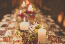 {Inspiration} Holiday Tablescapes / Get some great ideas on how to decorate your table with the perfect holiday favors and accents for the holidays!