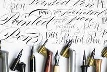 Calligraphy Love / Calligraphy awesomeness