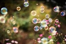 Bubble Shots / There is something so magical and whimsical about bubbles...