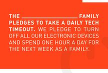 TECH TIMEOUT / Alternatives to technology for quality family time. / by Krystal Waters