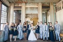 {Inspiration} Industrial Urban Wedding / A perfect theme for a modern, urban couple— 'industrial' wedding inspiration combines the charm of rustic with the trendiness of shabby chic!