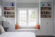 A Cozy Nook / Cozy nooks for reading and books!