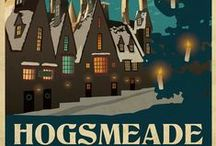 ◬ hogsmeade / Hogsmeade Village, or simply called Hogsmeade, is the only all-wizarding village in Britain. It was founded by Hengist of Woodcroft. Since before 1714 (when the 1714 Edict was passed), Hogwarts third years and above have been permitted weekend trips into the village.