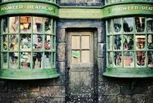 ◬ dogweed & deathcap / Dogweed & Deathcap is a shop in Hogsmeade that sells exotic plants and flowers.