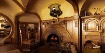 "◬ hufflepuff basement / The Hufflepuff Basement serves as the Hufflepuff Common Room  at Hogwarts School of Witchcraft and Wizardry. It also emphasises comfort, said to be ""the cosiest common room of them all""."