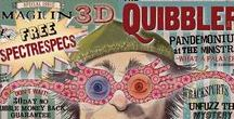 ◬ the quibbler / The Quibbler, marketed as The Wizarding World's Alternative Voice, is a wizarding tabloid published and edited by Xenophilius Lovegood. The Quibbler publishes odd articles, including conspiracy theories and discussions of imaginary creatures.