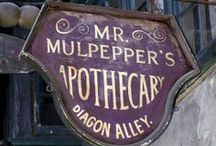 ◬ mr. mulpepper's apothecary / Mr Mulpepper's Apothecary was a shop in Diagon Alley which sold potion ingredients. It was established in 1106.