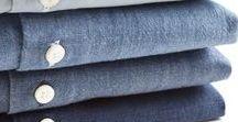 Chemises pour Homme / Tableau d'inspiration autour de la chemise, des détails aux matières en passant par les propositions de looks.