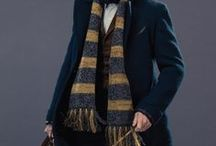 """◬ newton scamander / Newton Artemis Fido """"Newt"""" Scamander, O.M. (Second Class), (b. 24 February 1897) was a famed Magizoologist and author of Fantastic Beasts and Where to Find Them. Early in life, Scamander developed an interest in magical Creatures, influenced by his mother's breeding of hippogriffs. Scamander joined the Ministry of Magic, spending two years in the Office for House-Elf Relocation before joining the Beast Division."""
