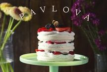 Sweet cakes/pies (all vegan)