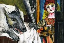 Red Riding Hood and the Wolf (my favorite) / by Nijole King