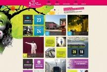 Web design / Sites that I like elements of