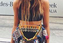 Boho . Hippie