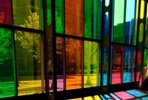 Stained glass and Mosaic