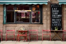 Curiosity Shops / Shops, Cafes, Bars, Pubs, Bookstores, Bakerys, Markets and on and on and on......