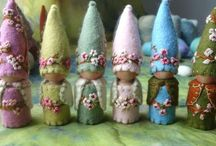 Fairy houses, gardens and parties / by inspired1
