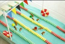 Cakes for Swimmers / Speedo's favourite Pinterest cakes for all of you who love swimming! Why not make your own swimming cake and email a photo to us at social@speedo.com - we'll feature it on our board! / by Speedo