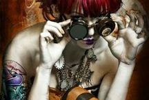 Steampunk / Metal & Leather  / by Kelly Victor