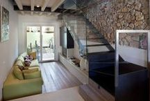 Little Inside / Small apartments, studios, space ideas for less than 50m2 / by Anne So