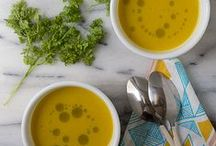 Soups and other liquid things.