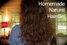 Hair / Haare - Curly&Wavy Hair Care / Special Haircare for curly & wavy hair / by Wollhase