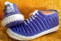 crochet / häkeln - Socks & Slipper / Socken & Puschen / by Wollhase