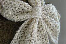 crochet / häkeln - shawls & scarfs / Tücher & Schals / by Wollhase