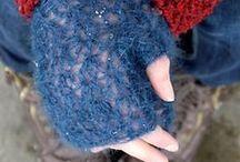 crochet / häkeln - Gloves & Mittens / Handschuhe / by Wollhase