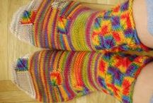 knitting / stricken - Socks & Slippers / Socken & Puschen / by Wollhase