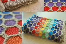 knitting / stricken - Blankets & Pillows / Decken & Kissen / by Wollhase