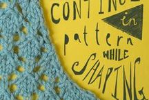 knitting / stricken - increases & decreases - Zu- und Abnahmen / by Wollhase