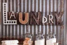 Throw In The Towel(s) / Laundry Room Ideas  / by Miranda Bensch