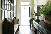 Entrez Vous / Front Porch & Entry Way (Foyer)  / by Miranda Bensch