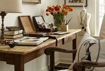 Step Into My Office / Home Office Ideas  / by Miranda Bensch