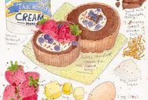 Sketching Food / Dibujando alimentos