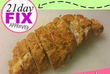 Fix It In 21 / 21 Day Fix & Shakeology Recipes  / by Miranda Bensch