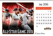 2016 SF Giants Calendar / It's an even year.