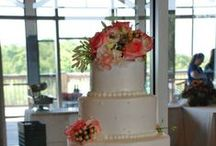 Wedding Cakes / These are just a few of the wonderful cakes from our weddings!