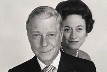 Wallis and Edward: Duke and Duchess of Windsor.  / He gave up the throne for her. She repaid him by devoting her life to him. Wallis Simpson and Prince Edward VII.