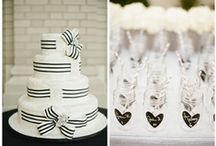 Wedding Trend: Black and White / Nothing is more classic then black and white!