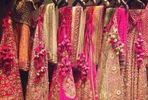 Indian Wedding Outfits / Outfits that add oomph and color to an Indian wedding. Use this board as inspiration and create your own pretty outfits.