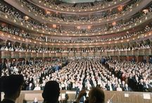 """The Met Opera / The """"Old"""" and the """"New"""" at the Metropolitan Opera."""