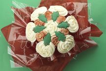 Christmas / Send a stunning bouquet of cupcakes as a gift this Christmas or wow your family with a beautiful after dinner centrepiece.