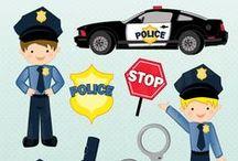 Brandweer en politie