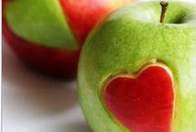 Fruittraktaties / gezonde traktaties gemaakt van fruit