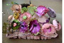 Цветы и бантики