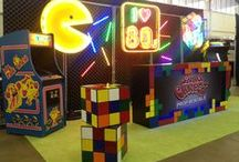 Totally Awesome '80s / Take your guests back to the 80s with awesome decor for your event.